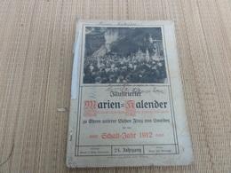 Illustrierter Marien Kalender 1912 Allmanach 1912 - Calendars
