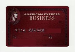 American Express USA Red AMEX Business AMEX Expired 2004 - Geldkarten (Ablauf Min. 10 Jahre)