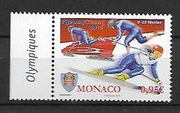 "Monaco 2018 - Yv N° 3120 ** - Jeux Olympiques D'hiver "" PyeongChang"" - Monaco"