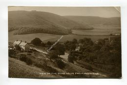 View Of The Dyke Hills From Poynings - England