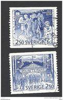 Schweden, 1991, Michel-Nr. 1672-1673, Gestempelt - Sweden
