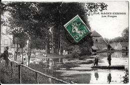 MAGNY-VERNOIS 70 HAUTE-SAONE 1816 LES FORGES  ECRITE CIRCULEE - Frankreich