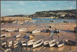 Harbour Boats, St Ives, Cornwall, 1962 - J Arthur Dixon Postcard - St.Ives
