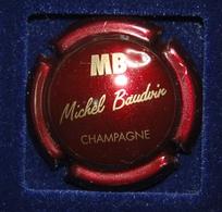 1 Plaque De Muselet De Champagne Baudvin - Autres