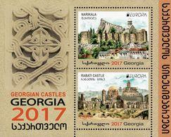 Georgia - 2017 - Europa CEPT - Castles - Mint Souvenir Sheet - Georgia