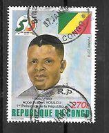 TIMBRE OBLITERE DU CONGO BRAZZA DE 2010 TRES RARE - Congo - Brazzaville