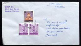Thailand Letter To Denmark ( Lot 2003 ) - Thailand