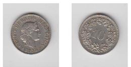 10 RAPPEN 1933 B - Suisse
