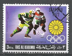 Ras Al Khaima 1972. #H (U) Olympic, Ice Hockey - Ras Al-Khaima