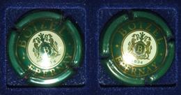 2 Plaque De Muselet De Champagne Boizel - Autres