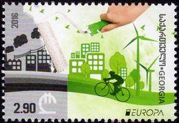 Georgia - 2016 - Europa CEPT - Think Green - Mint Stamp - Georgia