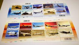 Bloc Aviation Civile De Singapour - Airplanes