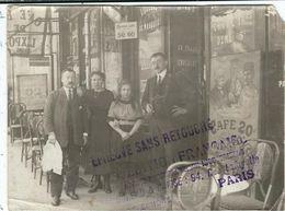 Paris : Bistrot Parisien, Photo D'Epoque , L'Edition Française, 94 Rue Lafayette PARIS 10eme - Cafés, Hôtels, Restaurants
