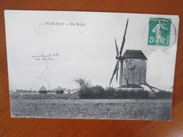 En Beauce , Un Moulin - France