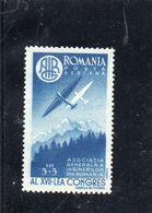 Roumanie 1947 - PA 43 * - Otros