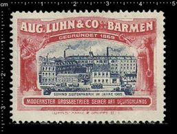 German Poster Stamp, Stamps, Reklamemarke, Cinderellas, Barmen, Luhns, Kinder Seife, Kids Soap, Factory - Erinnophilie