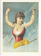 'Dame Ohne Unterleib' - ( Standard-Plakat Für Eine Schaustellungs-Zaubertheater-illusion 1892) - Voorstellingen