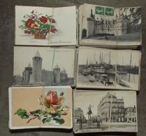 Lot De Environ 2300 Cartes Postales Anciennes - Types Drouilles - Cartes Postales