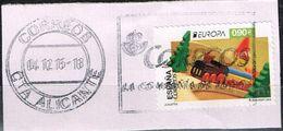 Spanien 2015, Michel# 4973 O     Europa (C.E.P.T.) 2015 - Old Toys - 1931-Heute: 2. Rep. - ... Juan Carlos I
