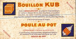 BUVARD  BOUILLON KUB POULE AU POT - Potages & Sauces