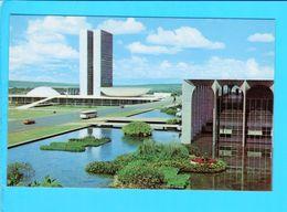 Cp Carte Postale   - Brasilia  Congresso Nacional - Brasilia