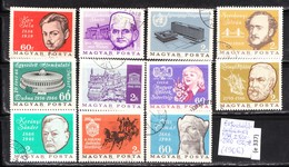 Anniversaries - Events Series, 1966 Hungarian Stamps 150 Ft Catalog Value, (e 337) - Hungary