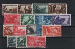 1932 Decennale Marcia Su Roma P.o. Serie Cpl MLH +++ - 1900-44 Victor Emmanuel III