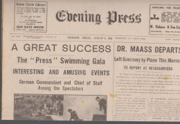 Guernsey Newspaper May 7 1941 (Original) - War 1939-45