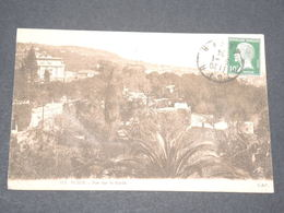 FRANCE - Type Pasteur Avec Oblitération D'Algérie Sur Carte Postale - P 22574 - 1922-26 Pasteur