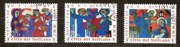 Vatican Vatikaan 2001 Yvertn° 1247-49 (°) Oblitéré Cote 6 Euro - Oblitérés