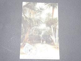 FRANCE - Type Pasteur Avec Oblitération D'Algérie Sur Carte Postale - P 22575 - 1900-29 Blanc