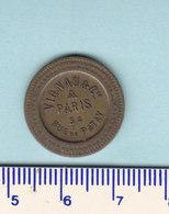 Monnaie Necessité Paris (75) Seine .. Vignau Et Cie .. 20c à Consommer - Monetary / Of Necessity