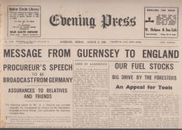 Guernsey Newspaper May 13 1941 (Original) - War 1939-45