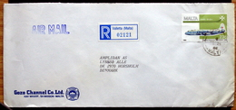 Malta  1986  Letter To Denmark ( Lot 2129 ) - Malta