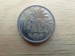 Nigeria  10  Kobo  1976  Km 10 - Nigeria