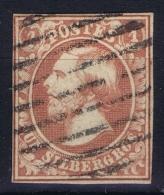 Luxembourg : Mi Nr 2 Obl./Gestempelt/used  1852 - 1852 Guglielmo III