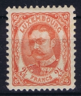 Luxembourg : Mi Nr 82 MH/* Flz/ Charniere 1906 - 1906 Wilhelm IV.