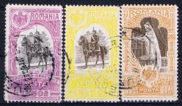 Romenia : Mi Nr  205 -- 207 Used  1906 - Gebraucht