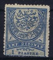Turkey Mi Nr 61 AA MH/* Flz/ Charniere  1890  Perfo 13.25 - 1858-1921 Empire Ottoman