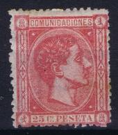 Spain:  Mi 150 MH/* Flz/ Charniere 1875 - 1875-1882 Reino: Alfonso XII