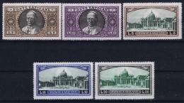 Vatican Sa 30 - 34 MH/* Flz/ Charniere  1933 - Unused Stamps