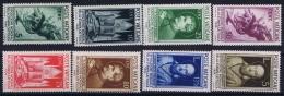 Vatican Sa 47 - 54  MH/* Flz/ Charniere  1936 - Vaticano