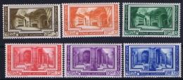 Vatican Sa 55 - 60 Postfrisch/neuf Sans Charniere /MNH/** 1938 Gum Discolored 75 C Has A Light Gum Fold - Vaticano