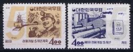 South Korea  Mi Nr 396 - 397  Postfrisch/neuf Sans Charniere /MNH/**  1963 - Korea (Süd-)