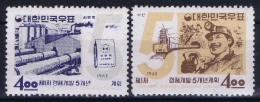 South Korea  Mi Nr 396 - 397  Postfrisch/neuf Sans Charniere /MNH/**  1963 - Korea, South
