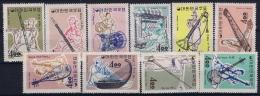 South Korea  Mi Nr 406 - 415 Postfrisch/neuf Sans Charniere /MNH/**  1963 - Korea (Süd-)