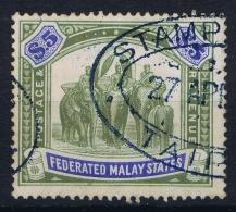 SG Nr 50  Mi 37  Used 1904 - Federated Malay States