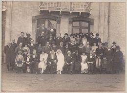 Photographe NEDELEC Rue Du Port REDON 35 France Photo Mariage -sans Doute Vers 1910 - Personnes Anonymes