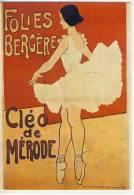 CLÉO DE MÉRODE  FOLIES BERGÈRE   CANSE ET MAGIE - Dance