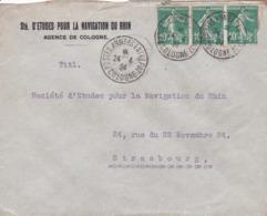 Empreinte Postale  Aux Armées - 1921-1960: Modern Period
